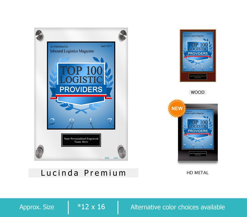 Inbound Logistics Magazine Top 100 Logistics Providers 2017 Apr2017